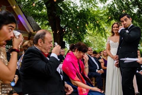 Denis Gostev, uit New York, is een trouwfotograaf voor Tavern on the Green
