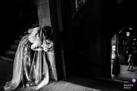 HART HOUSE trouwfoto van vóór de ceremonie.