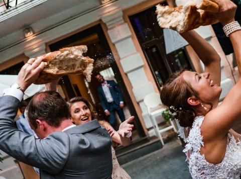 chleb weselny