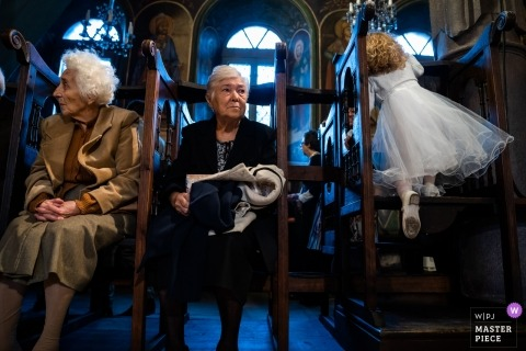 Church children with family Generations | Plovdiv, Bulgaria wedding photography