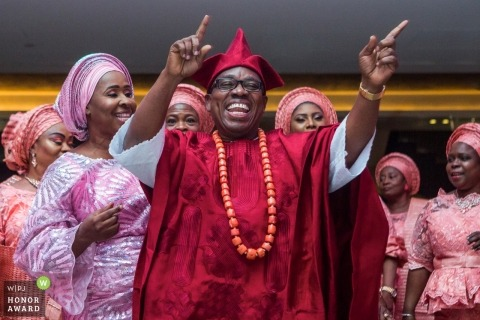 London documentary wedding photo - Nigerian wedding in London