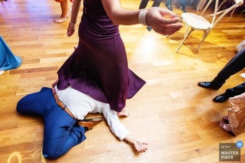 Bonnet Island NJ LBI | Dance Floor Reception Wedding Photography New Jersey