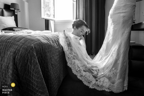 Valerie Teppe, of , is a wedding photographer for Saint Junien, France