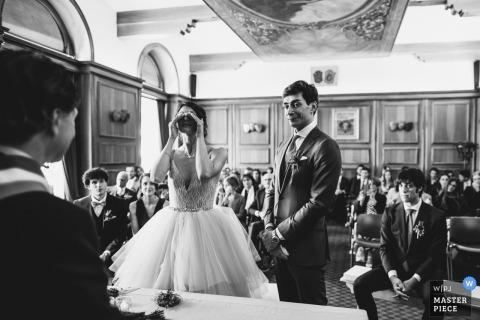 Ceremonia ślubu w Cortinie Fotoreportaż weselny