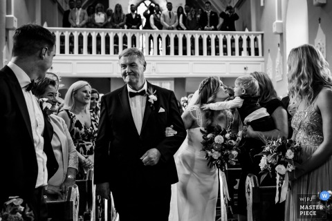 Annie Kheffache, of Dublin, is a wedding photographer for Tipperary, Ireland