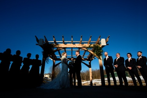 Todd Laffler, of New Jersey, is a wedding photographer for New Jersey