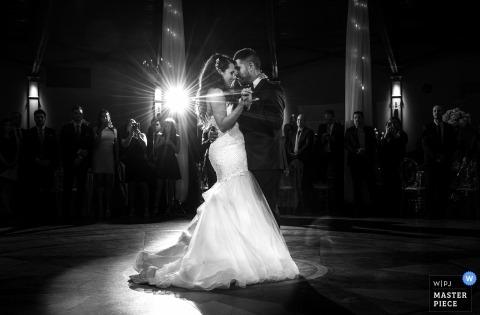 eerste dans | Bruiloft in Burlington, Ontario.