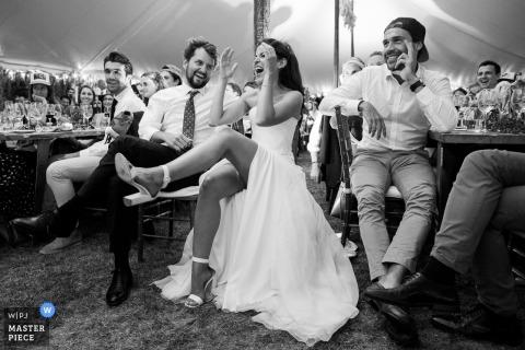 Obraz weselny z Cadaques, Hiszpania para - francuski fotograf ślubny