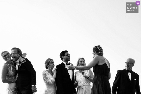Picture of a couple by a top Leon wedding photographer - multicultural destination wedding munich - indian german wedding