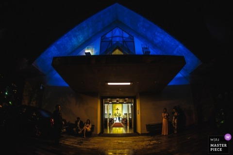 Wander Menezes, de Minas Gerais, est un photographe de mariage pour Igreja Nossa Senhora Rainha - Belo Horizonte - Minas Gerais - Brésil