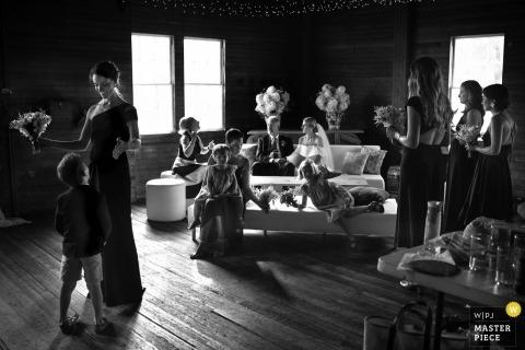 maine, pozos | fiesta de bodas, antes de la ceremonia | Conversaciones antes de la ceremonia.