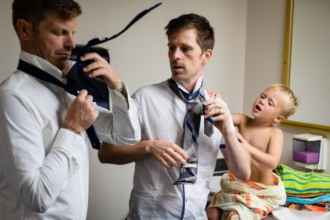 David Clumpner, of Montana, is a wedding photographer for Bigfork, Montana