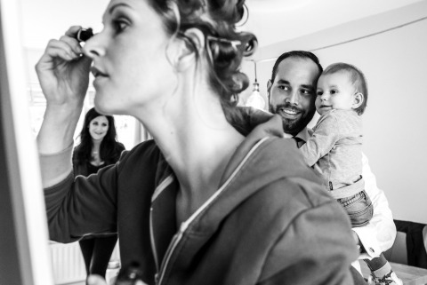 Kim Rooijackers, of Noord Brabant, is a wedding photographer for