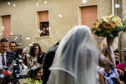 Pasquale Minniti, z Reggio Calabria, jest fotografem ślubnym dla