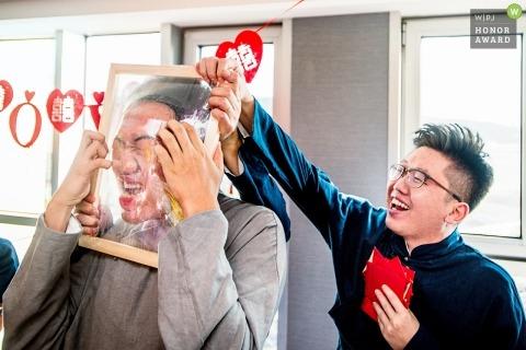 Shanghai wedding games for the guys | Pre-wedding photography