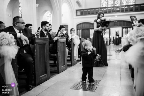 Jacques Mateos, of , is a wedding photographer for American church paris
