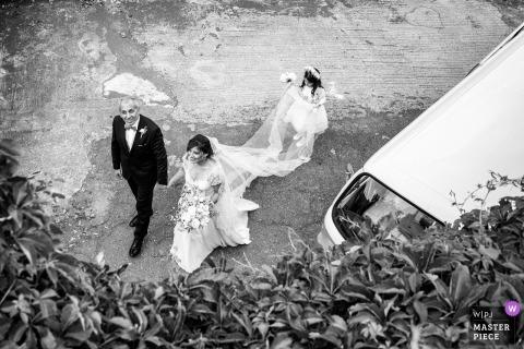 Sicilia bride before her wedding ceremony