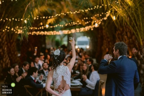 Monte Magdalena, Chile Fotojournalismus Hochzeitsbild eines Paares
