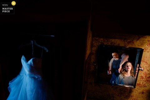Jacob Hannah, uit Vermont, is een trouwfotograaf voor Barnard, Vermont