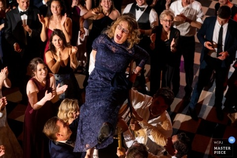 Chicago Hora Dance Jewish Wedding