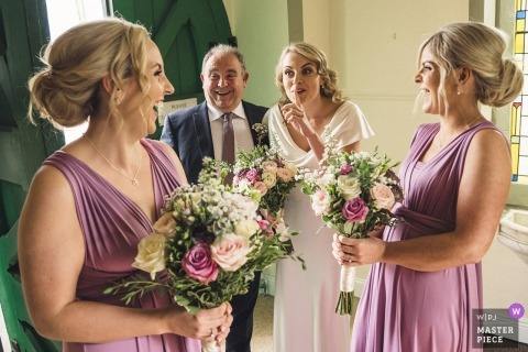 Roger Kenny, of Wicklow, is a wedding photographer for Dunbrody House