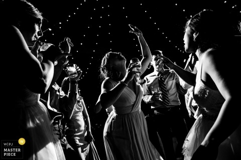 Colorado Wedding Photography of the Reception Dance Party
