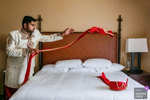 Indian Wedding with Indian Groom | Westlake Village, California