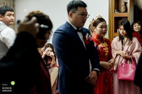 Zdjęcia ślubne z uroczystości wykonane przez fotografa Fujian