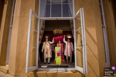 Ditton Manor, Hochzeitsphotographie Londons, Großbritannien vom Ereignis