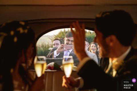Goście weselni mówili o Gooodbye Pannie Młodej w Hedsor House Bucks UK