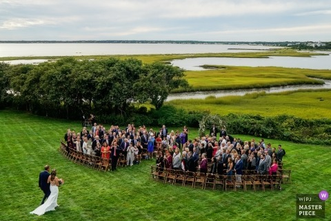 Private Home, Cape Cod (Hyannis Port) -  Massachusetts Backyard Wedding Photography