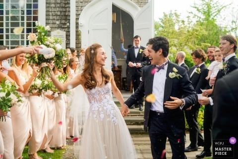 Großer Hafen Yacht Club, Nantucket - Massachusetts Hochzeitszeremonie Fotografie