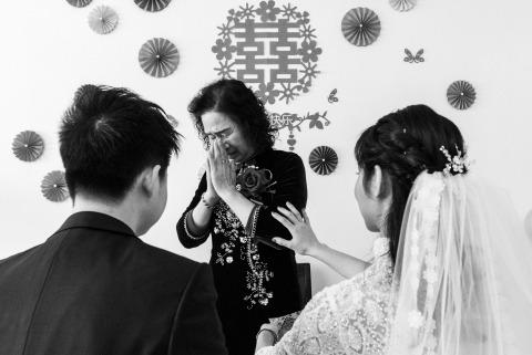 Jinqi Tan, of, est un photographe de mariage pour