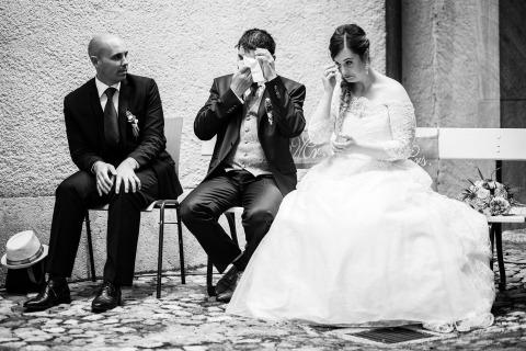 Vincent Bourrut, di Berna, è un fotografo di matrimoni per Bevaix, Svizzera