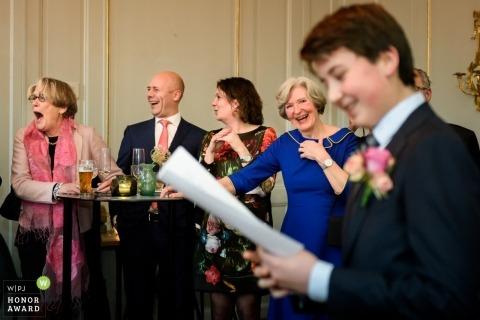 Het Spaansche Hof - Discours à la réception de mariage