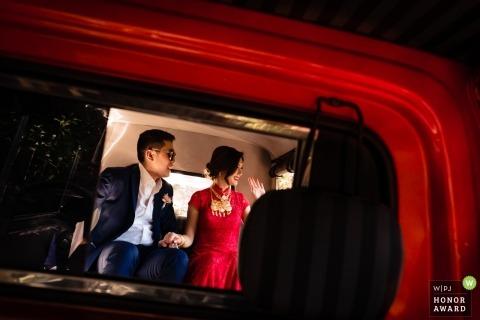 Sripanwa, Phuket. Chinese wedding pictures in red