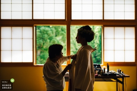 Keta Shrine  and ShowaOnsen Shirakabaso - Photos of the Love of grandma and bride.
