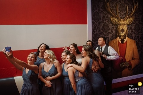 Meg Brock, of Pennsylvania, is a wedding photographer for Southampton, PA