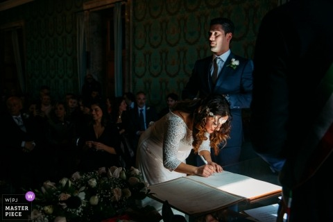 Alessandro Castelli, of Siracusa, is a wedding photographer for Ortigia