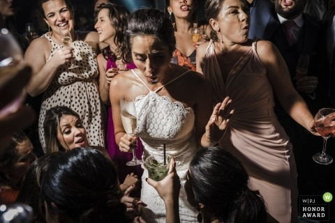 Mansão Santa Teresa, Rio de Janeiro, Brazil Photo - Wedding party, lovely bride