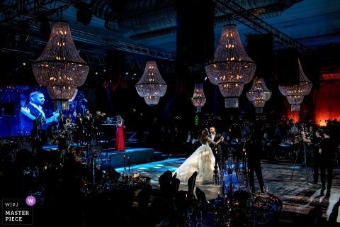 JW Marriott Ankara photographer - first Wedding Dance for the bride and groom