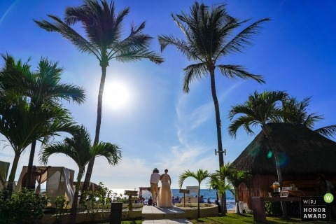 Juan Carlos Calderon, of Jalisco, is a wedding photographer for Marival Resort Puerto Vallarta, Mexico