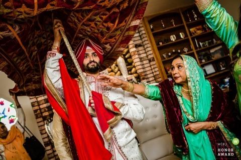 San Francisco wedding ceremony ritual photo