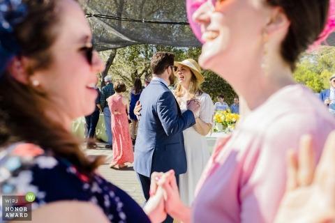 Lafayette Reservoir wedding photo of dancing