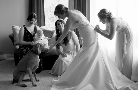 Kathi Robertson, of Ontario, is a wedding photographer for Ottawa Hunt Club Ottawa Canada