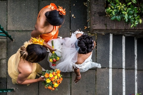 Obi Nwokedi, of London, is a wedding photographer for Chigwell House, london