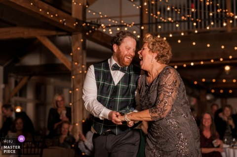 Mountain Top Inn- Vermont Wedding Photography during the Mother-Son Dance