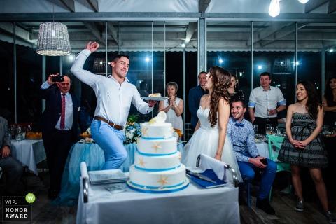Hotel & Bar Tyulenovo, Tyulenovo, Bulgaria wedding venue photos | The Cake Cutting