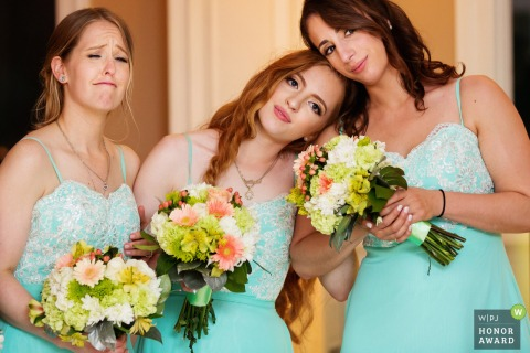 Rock Island Lake Club New Jersey Wedding Venue Pictures of the Emotional Bridesmaids