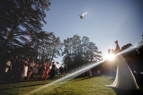 Simon Cassanas, of , is a wedding photographer for Massay France